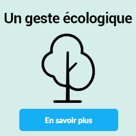 Un geste écologique
