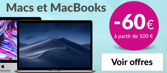 Macs et MacBooks reconditionnés