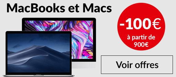 Macs et MacBooks reconditionnés