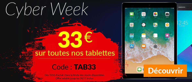 33€ auf Tablets