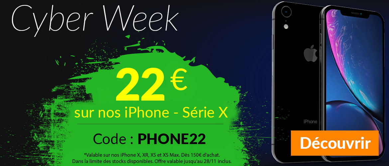 iPhone Serie X 22€