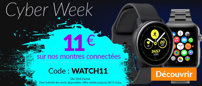 11€ auf Smartwatch