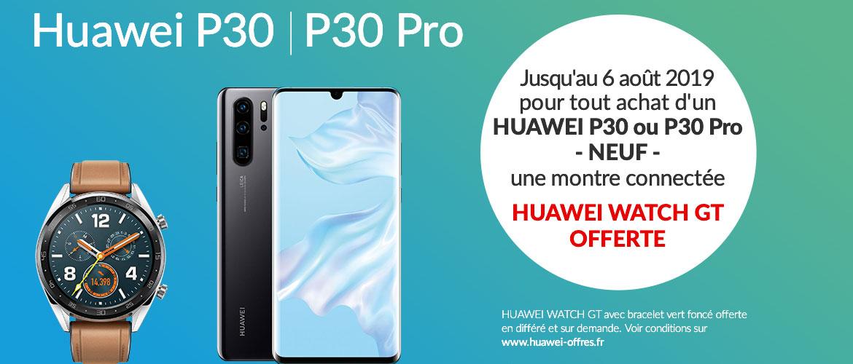 Huawei P30 - Watch GT