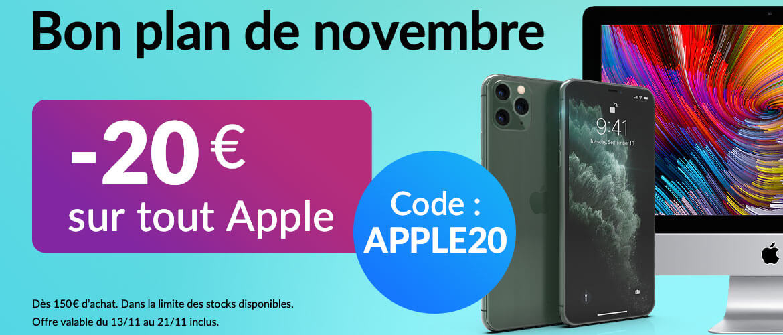 -20€ auf Apple