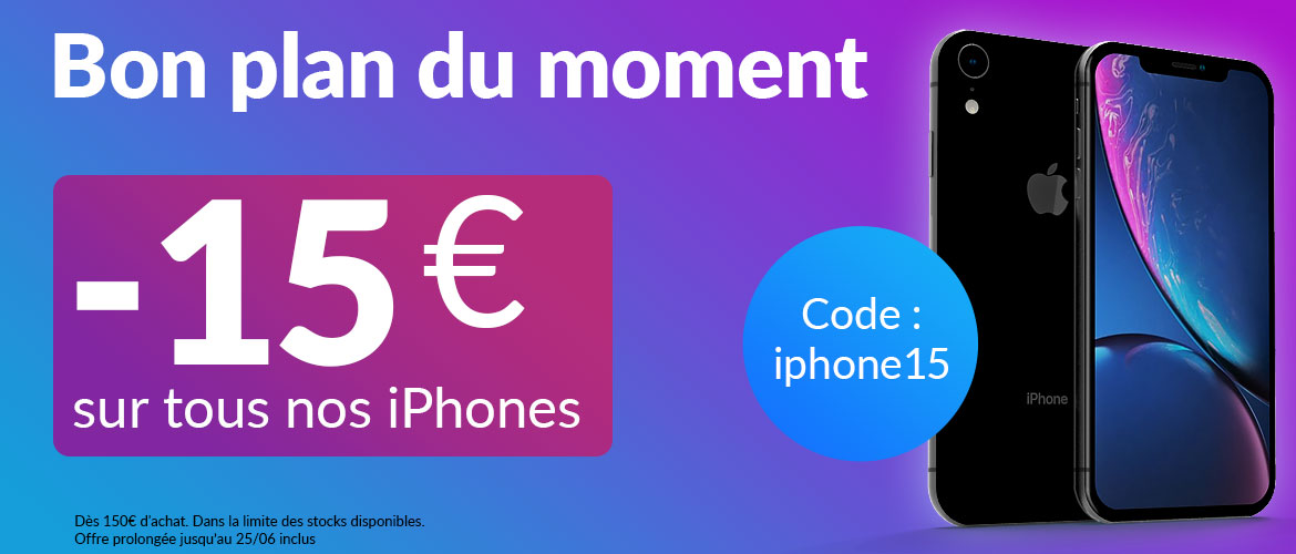 bon plan iphone 15